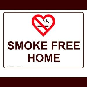 All of my items come from a smoke free home